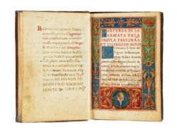 Ɵ Battistino de Tonsis, Historia della presa di Tripoli, in Italian, with Latin and Italian verses