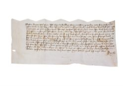 Four charters relating to Sandwich and other sites in Kent