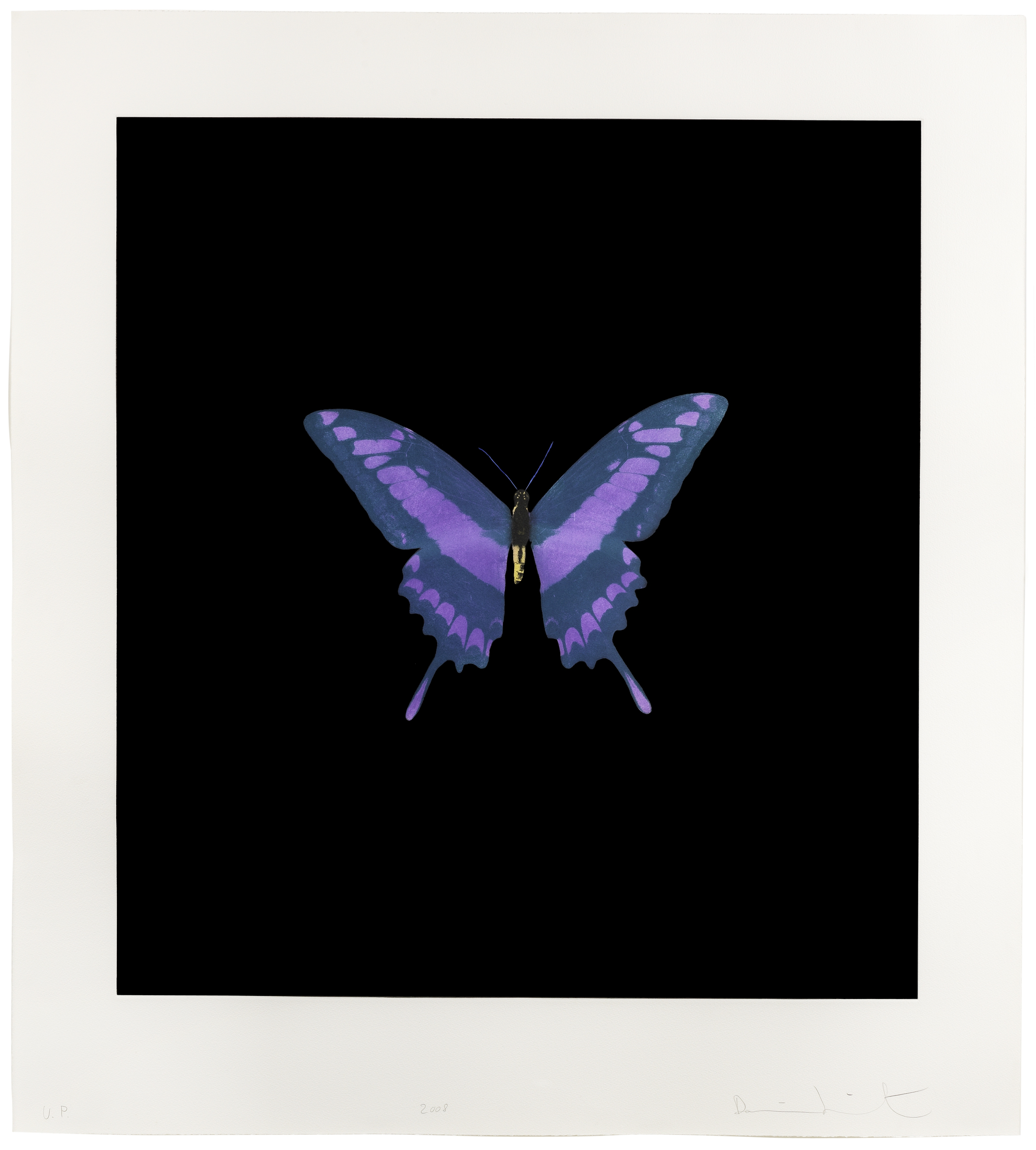 Lot 32 - Damien Hirst (B. 1965) The Souls on Jacob's Ladder Take Their Flight, 2008