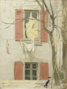 Sir William Nicholson (British, 1872-1949) The Cat 40.5 x 30.4 cm. (16 x 12 in.) (Painted circa 1...