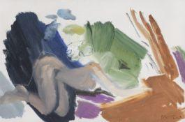 Ivon Hitchens (British, 1893-1979) Figure in Shade No.2 1959 51 x 76 cm. (20 x 30 in.)