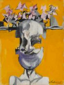 Graham Sutherland O.M. (British, 1903-1980) Head 33 x 24.8 cm. (13 x 9 3/4 in.)