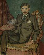 Roger Fry (British, 1866-1934) Portrait of E.M. Forster 73 x 60 cm. (28 1/4 x 23 5/8 in.) (Painte...