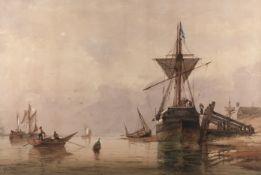 Richard Henry Nibbs (British, 1816-1893) Shoreham