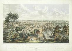 Eduardo Laplante after Leonardo Baranano, Puerto-Principe, 19th Century 'Puerto-Principe: Vista g...