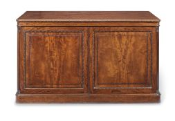 A George IV mahogany library folio/print cabinet attributed to Gillows