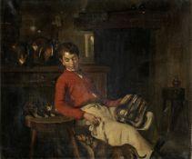 Manner of Joseph Bail Kitchen boy
