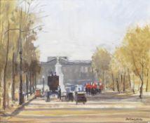 Charles McCall (British, 1907-1989) The Mall - London