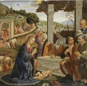 After Domenico Ghirlandaio, 20th Century The Adoration of the Shepherds