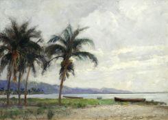 Albert Salisbury Wood (British, fl.1896-1928) 'Kingston, Jamaica'