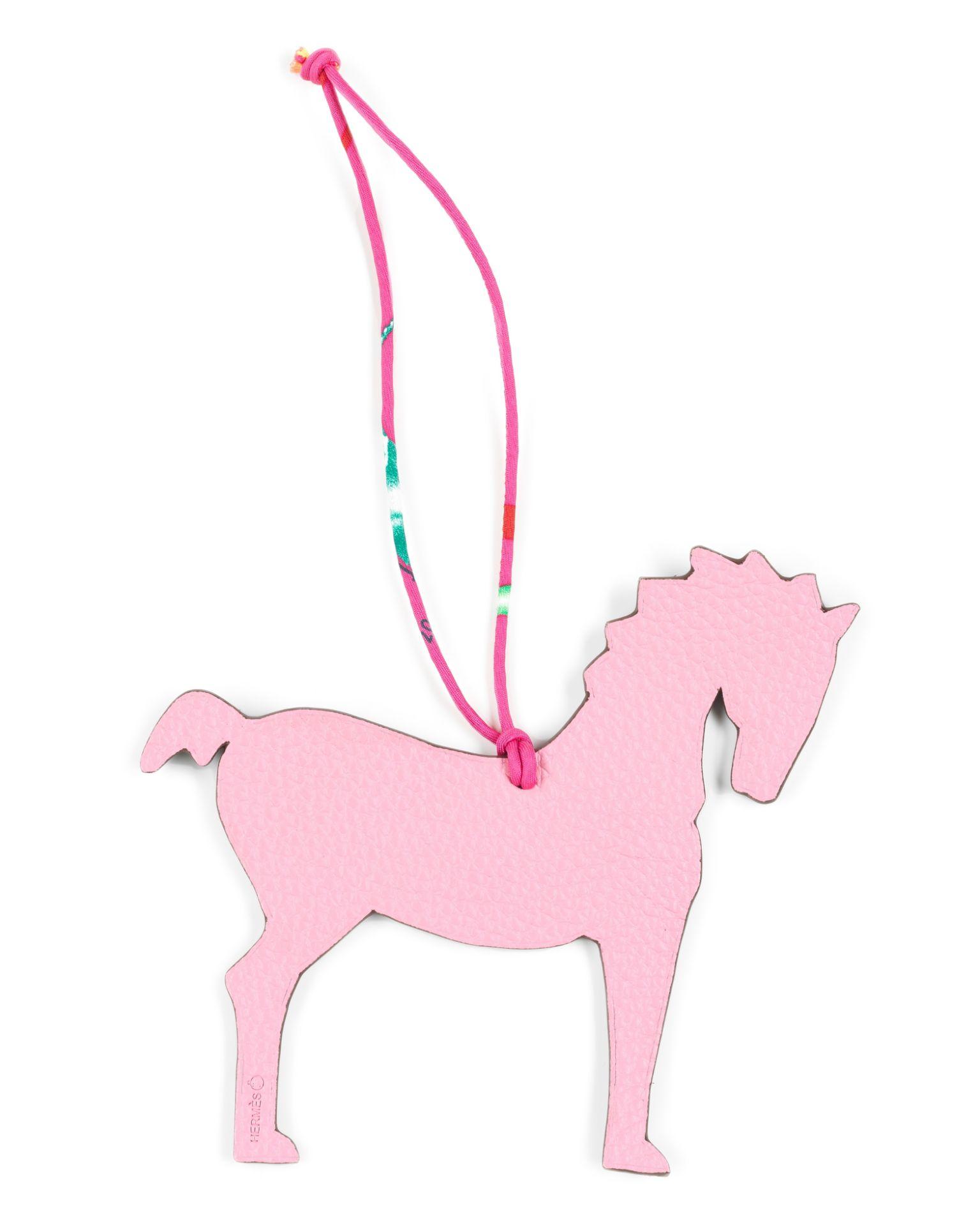 Los 203 - Horse Bag Charm, Hermès Petit H, (Includes box)