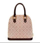 Burgundy Mini Lin Alma Haut Bag, Louis Vuitton, c. 2001, (Includes dust bag)