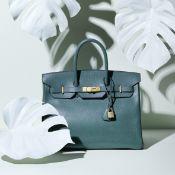 Vert Clair Ardennes Birkin 35, Hermès, c. 1994, (Includes padlock, keys, cloche, and dust bag)