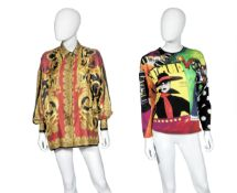 Vogue Print Top, Gianni Versace Couture, c. 1991,