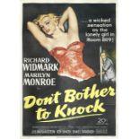 Don't Bother To Knock, Twentieth Century Fox, 1952,
