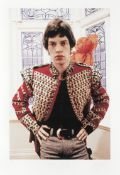 Colin Jones (British, b.1936): Mick Jagger at Harley House, 1967, printed later,