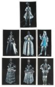 The Favourite: A set of signed prints of costume designs by Sandy Powell, Fox Searchlight Picture...
