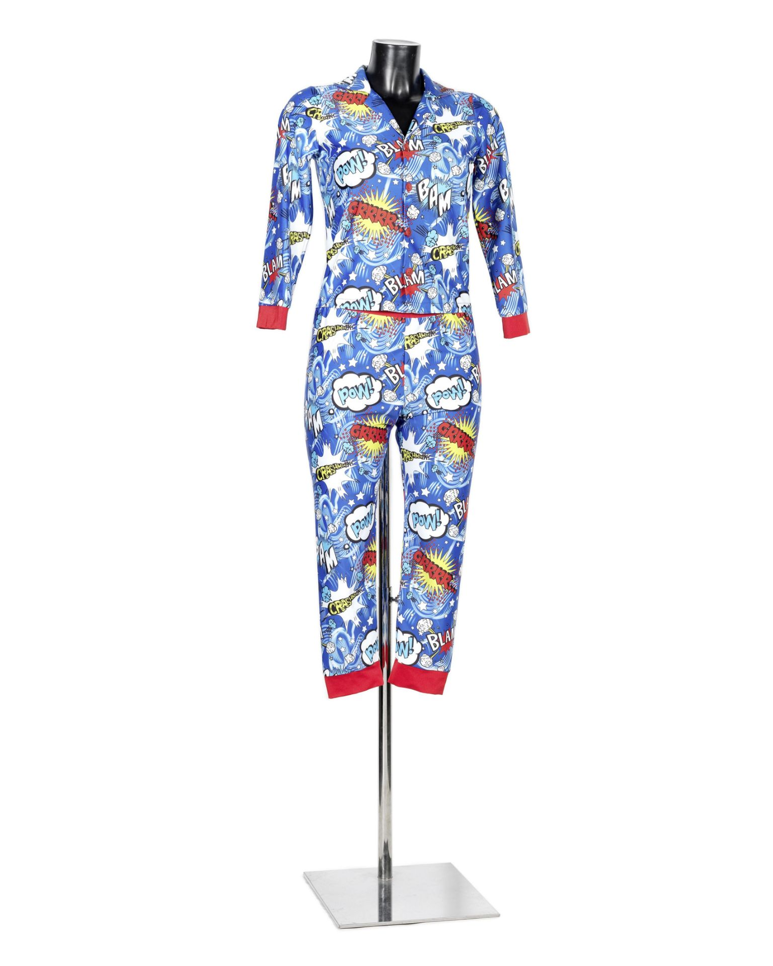 Killing Eve: An original set of pyjamas as worn by Jodie Comer for her role as 'Villanelle', Sid ...
