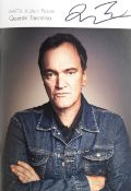 Quentin Tarantino: Two signed brochures for BAFTA: A Life In Pictures, 2019, 2
