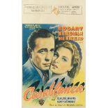Casablanca, Warner Bros, 1947 (post-war release),