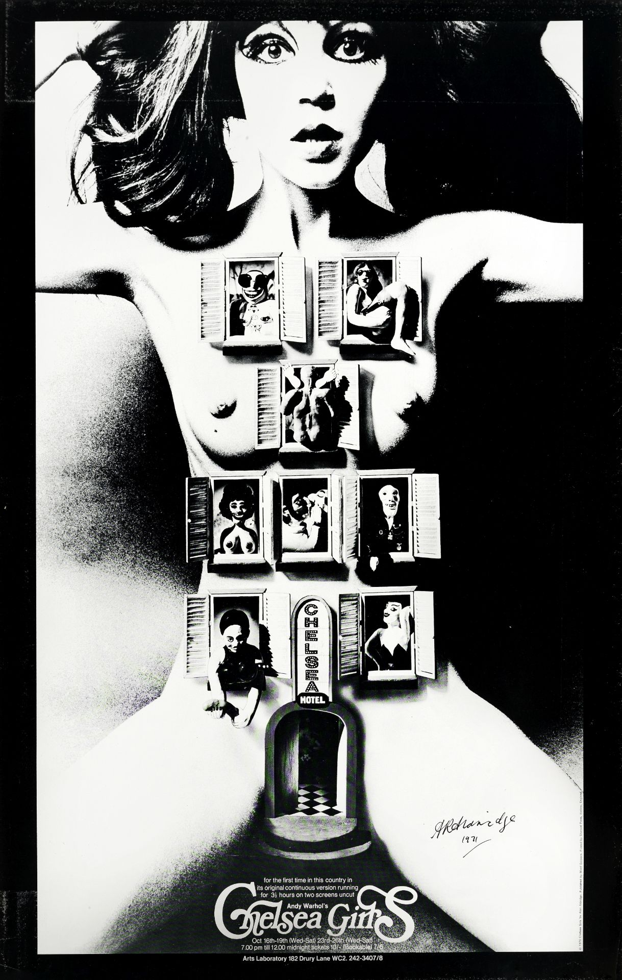 Chelsea Girls, Andy Warhol Film, 1966,