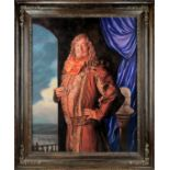 The Hobbit - The Desolation of Smaug: A prop Portrait of Stephen Fry as the 'Master of Laketown',...