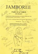 The Lord Of The Rings: Three original screenplay scripts for 'Jamboree' (Lord Of The Rings) signe...