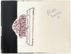 Marc Bolan: A Signed Copy Of The Warlock Of Love, Lupus Music, 1969, 2
