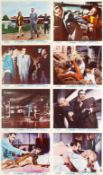 James Bond: A set of eight British front of house stills from Goldfinger Eon Productions/United A...