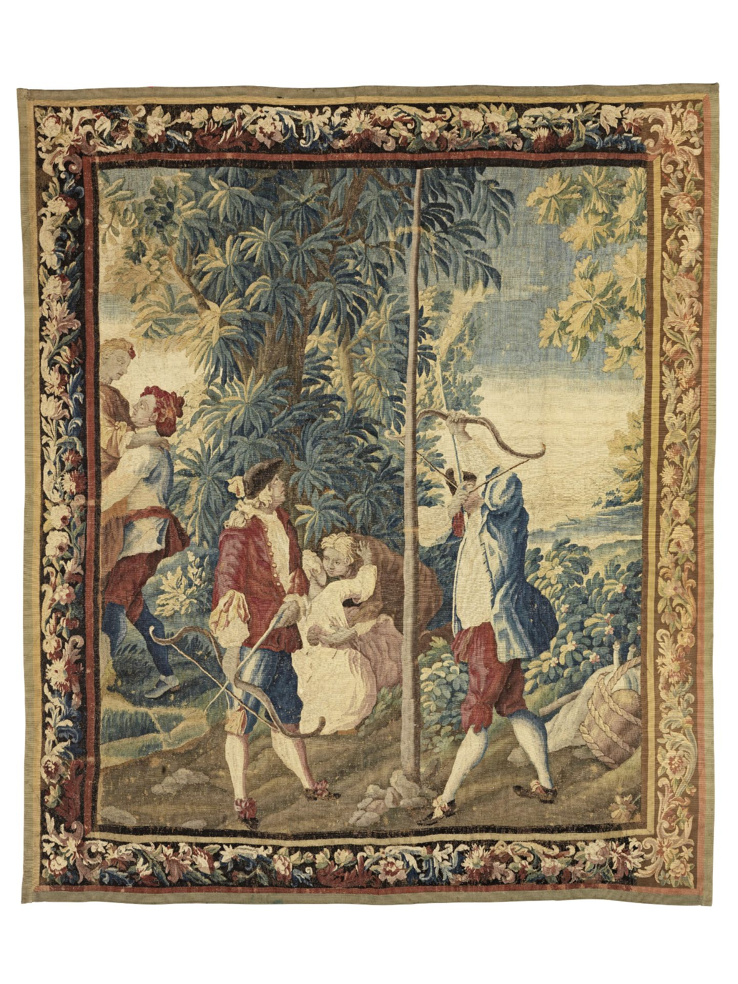 Los 44 - A mid-18th century tapestry, French, circa 1750
