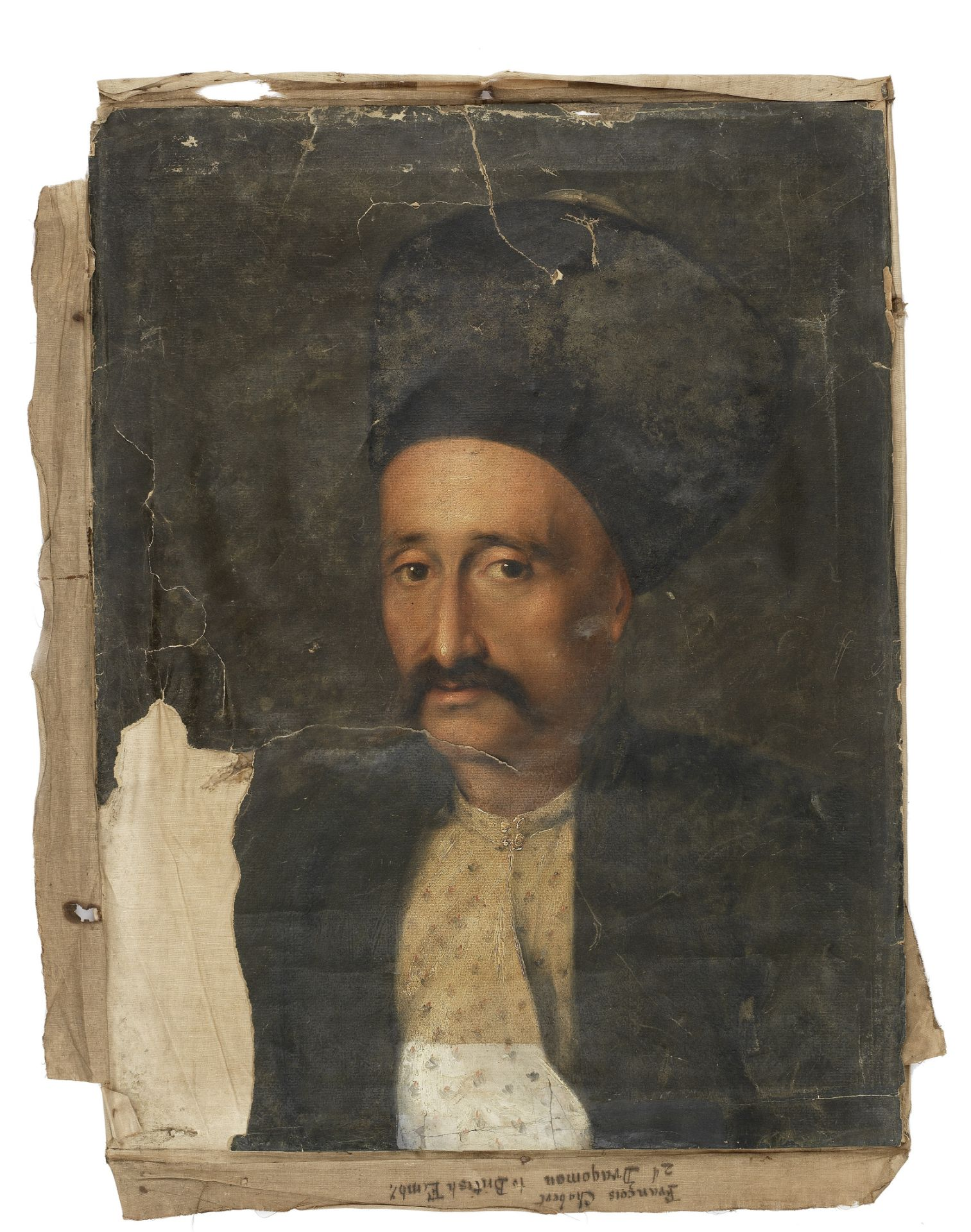 French School (early 19th Century) Portrait of a Dragoman, possibly François Chabert