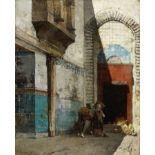 Alberto Pasini (Italian, 1826-1899) Ingresso di bazar