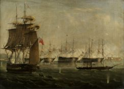 Lt. John Frederick Warre (British, active mid-19th century) The British bombardment of Egyptian h...