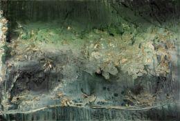 Thanos Tsingos (Greek, 1914-1965) Sea 89 x 130 cm. (Painted in 1956.)