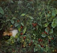 Irene Iliopoulou (Greek, born 1950) Resting in nature 220 x 180 cm. (Painted in 1998.)