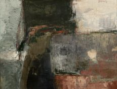 Alecos Condopoulos (Greek, 1905-1975) Picture III 47 x 63 cm. (Painted in 1964. )