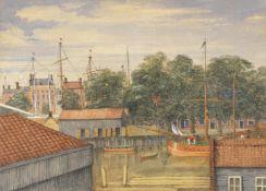 Mary Ellen Best (British, 1809-1891) Rotterdam