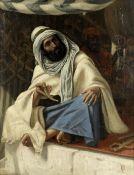 Circle of Frederick Goodall, RA (British, 1822-1904) An Arabian dealer