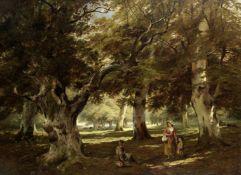 Edward John Cobbett (British, 1815-1899) Windsor Park near Cumberland Lodge