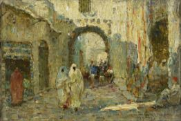 Lionel Townsend Crawshaw, RSW (British, 1864-1949) Tunis