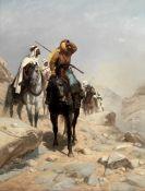 Richard Beavis (British, 1824-1896) Danger ahead