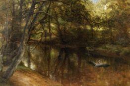 Joseph Farquharson RA (British, 1846-1935) The haunt of the heron