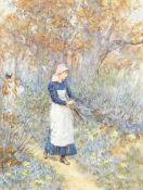 Helen Allingham, RWS (British, 1848-1926) Wood gatherers