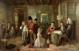 Charles Hunt (British, 1829-1900) The court martial