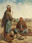 John Dalbiac Luard (British, 1830-1860) The smokers