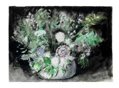 John Piper C.H. (British, 1903-1992) Flowers IV 57.8 x 79 cm. (22 3/4 x 31 1/8 in.)