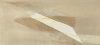 Sandra Blow R.A. (British, 1925-2006) No. 4 104.3 x 254.6 cm. (45 x 100 1/4 in.) (unframed)