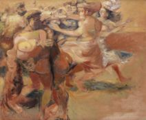 Ceri Richards (British, 1903-1971) The Rape of the Sabines 63.7 x 76.5 cm. (25 x 30 1/8 in.)