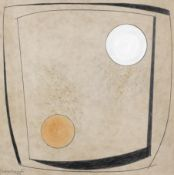 Dame Barbara Hepworth (British, 1903-1975) Tranquil Form 56 x 56 cm. (22 x 22 in.)