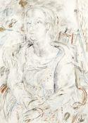 David Jones C.H., C.B.E. (British, 1895-1974) Petra 77 x 55.9 cm. (30 1/4 x 22 in.)